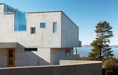 Concrete House: a monolithic lakeside home by Carl-Viggo Hølmebakk in Norway | Architecture | Wallpaper* Magazine