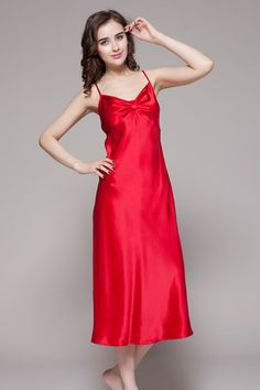 Beautiful ladies, our 100-percent high quality ladies silk nighties are on sale, which is made of 19 momme mulberry silk. $85 #nightgowns #silk #lilysilk