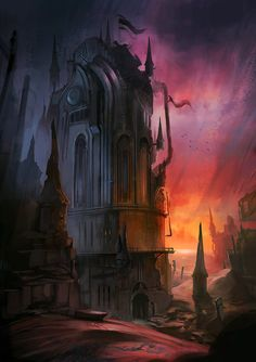MZLoweRPP verified link on 6/8/2016 Source: jordangrimmer.deviantart.com Artist: Jordan Grimmer Artist's Title: Vampire Tower
