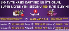 Lig Tv Kredi Kartlı İndirim Kampanyaları