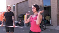 CrossFit - Coaching the Push Press with Miranda Oldroyd (+playlist)