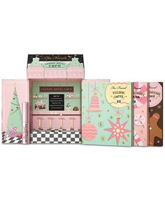 Too Faced Christmas in New York Grand Hotel Café 3 Color Palettes