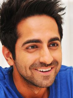 Ayushmann Khurrana. Your hair sir, it has been styled by the angels!