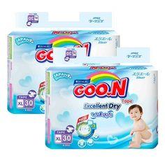 Mua ngay Bộ 2 gói tã giấy Goon Jumbo XL30 (12-20 kg) chính hãng giá tốt tại Lazada.vn. Mua hàng online giá rẻ, bảo hành chính hãng, giao hàng tận nơi, thanh toán khi giao hàng!