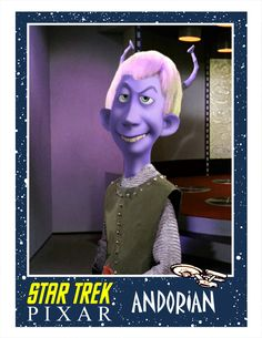 Pixar Boldly Goes Where No Man Has Gone Before... Star Trek (artist: Phil Postma).
