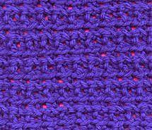 """knotted ridges sampler square 7"""" #freepattern #crochet"""
