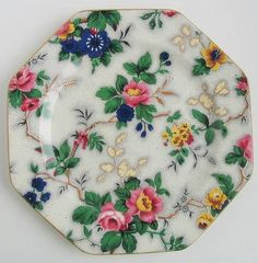 chintz plate