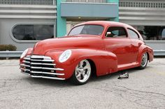 2014 ididit Car Show Street Rod winner: 1947 Chevy Fleetline - Fred Clark Motor Vehicle, Motor Car, Custom Wheels, Custom Cars, Chevy Classic, Classic Cars, My Dream Car, Dream Cars, Volkswagen