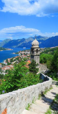 Views from the Fortress of St. John (also known as Castle of San Giovanni): http://bbqboy.net/photo-essay-why-kotor-montenegro-totally-blew-us-away/ #kotor #montenegro