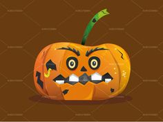 Check out Pumpking Illustration by Subcutaneo Creative Store on Creative Market http://creativemarket.com/subcutaneo