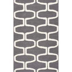 nuLOOM Handmade Mod Trellis Wool Grey Rug (5' x 8') - 17731429 - Overstock.com Shopping - Great Deals on Nuloom 5x8 - 6x9 Rugs