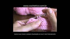 Crochê - Guia de Pontos - Aula 28 - Diminuição ( 2 Pontos Juntos)