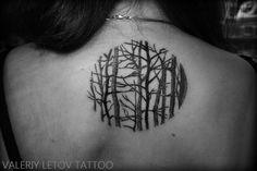 forest tattoo by ValeriyLetov on deviantART
