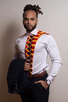 2018 ankara styles for men : Awesome Ankara shirt outfits For Men - Awsome Shirts - Ideas of Awsome Shirts - Homme African Shirts For Men, African Dresses Men, African Attire For Men, African Clothing For Men, African Wear, African Style, African Beauty, African Women, Nigerian Men Fashion