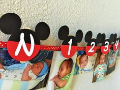Mickey Mouse Birthday Party First Year by sweetheartpartyshop