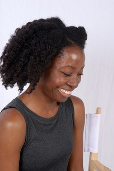 @kinkyapothecary at Becca, London for the @KeziahCONNECTS inaugural event - 24 July12 #naturalhair