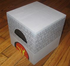 Minecraft Furnace Box