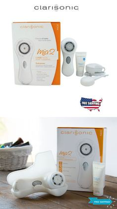 Home Skin Care Devices: White Clarisonic Mia 2 Sonic Skin Cleansing System Sealed - Free Shipping -> BUY IT NOW ONLY: $35.75 on eBay! Skin Cleanse, Anti Aging Skin Care, Personal Care, Free Shipping, Ebay, Products, Self Care, Personal Hygiene, Gadget