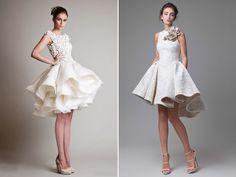 30 Short Sassy Wedding Dresses For Summer Brides