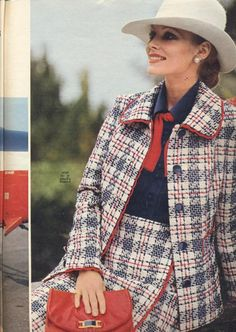 1972 Red and Blue Ensemble