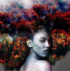 Black Girl Magic: cabelos afros transformados em artes pelo artista Pierre Jean-Louis;