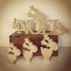 Christmas Wood Crafts, Homemade Christmas, Candy Decorations, Christmas Decorations, Deco Noel Nature, Gift Drawing, Wood Ornaments, Sustainable Design, Woodworking Shop