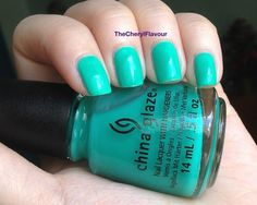 China Glaze Keepin' It Teal from Neons On The Shore