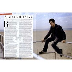 Tatler Editorial Mad About Max, January 2010 Shot #1 - MyFDB ❤ liked on Polyvore featuring editorials and max minghella