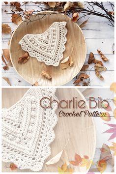 PATTERN ONLY – Charlie Bandana Bib – 2 Style options. Textured Bandana style bib, Baby and Toddler sizes Crochet Pattern Baby Bib. Crochet Baby Bibs, Crochet Baby Clothes, Cute Crochet, Crochet Crafts, Easy Crochet, Baby Knitting, Crochet Projects, Baby Patterns, Knitting Patterns
