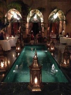 Photos of Dar Yacout, Marrakech - Restaurant Images - TripAdvisor Le Riad, Marrakech Morocco, Morocco Travel, Africa Travel, Vietnam Travel, Marrakech Restaurant, The Places Youll Go, Places To Go, Moroccan Interiors