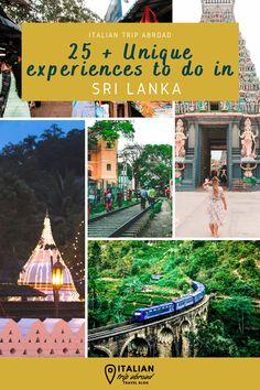 Sri Lanka Bucket List | 25+ unique experiences in Sri Lanka 1