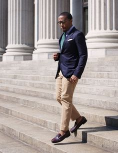 penny loafer look