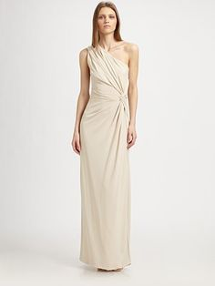 Philosophy - Asymmetrical Gown - Saks.com