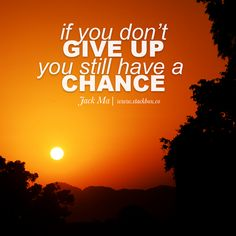 Giving up? Not an option! Upload your CV now! http://www.stackbox.co/