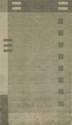 Momeni Rugs Area Rug Gramercy Collection GM-09 Green