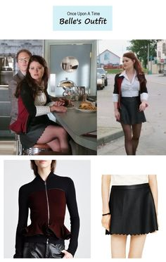 """Once Upon A Time - """"Dark Hollow"""" Belle's outfit"""