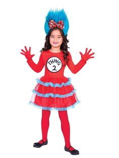 Girls Mouse Fancy Dress Dressing Up Costume Outfit Kids Child 4-9 World Book Day