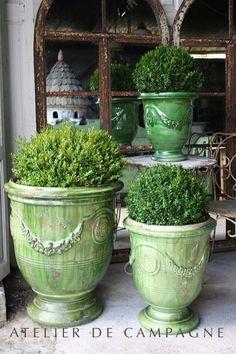 Atelier de Campagne Poterie Anduze, Idee Deco Jardin, Jardins Suspendus,  Pot Plante, 51489d7d46cc