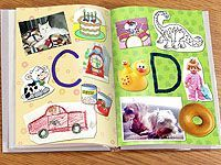 Make an alphabet book … It's a good project for rainy days that kids can add to! Fisher Price has some of the best things for kids, Chirp worthy. Preschool Literacy, Literacy Activities, Preschool Activities, Kindergarten, Preschool Journals, Toddler Learning, Early Learning, Fun Learning, Alphabet Activities