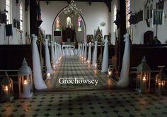 dekoracja kościoła  na  ślub Człuchów Debrzno