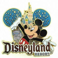 Disney Disneyland Resort Mickey Mouse 3D Pin