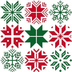 9 Nordic Snowflakes for cross stitch greeting cards cross stitch chart digital pdf pattern winter christmas snowflakes stars Scandinavian Cross Stitching, Cross Stitch Embroidery, Cross Stitch Designs, Cross Stitch Patterns, Cursive Alphabet, Alphabet Cards, Cross Stitch Tree, Christmas Embroidery, Embroidery Techniques