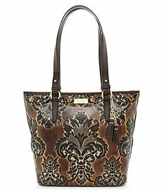 Brahmin Fresco Collection Asher Tote $345.00. Embossed baroque pattern leather.