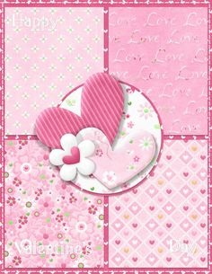 """Photo from album """"Val'n Tine"""" on Yandex. Valentine Heart, Valentine Crafts, Valentine Day Cards, Valentines, Heart Wallpaper, Love Wallpaper, Wallpaper Backgrounds, Wallpapers, Pink Love"""