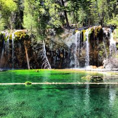 Hanging Lake, Glenwood Springs Colorado - a must see. Worth the hike! Colorado Vacations, Road Trip To Colorado, Moving To Colorado, Dream Vacations, Oh The Places You'll Go, Places To Visit, Amazing Places, Beautiful Places, Glenwood Springs Colorado