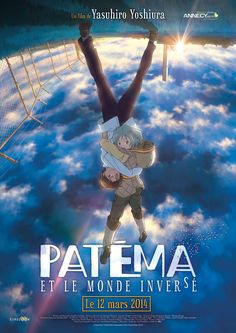 Anime Film Podobne Do Sakasama No Patema. A young girl, from a civilization that resides in deep underground tunnels, finds herself trapped in an inverted world and teams up with a resident to escape and return home. Film Manga, Film Anime, Manga Anime, Anime Art, Noragami Manga, Animes Online, Online Anime, Movies Online, Sakasama No Patema