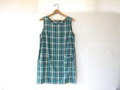STOREWIDE SALE...90s cotton mini dress. by dirtybirdiesvintage, $28.00