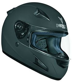 Special Offers - Vega X888 Full Face Helmet (Flat Black Large) - In stock & Free Shipping. You can save more money! Check It (November 20 2016 at 04:13PM) >> http://motorcyclejacketusa.net/vega-x888-full-face-helmet-flat-black-large/