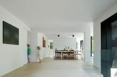 'Minimal Interior Design Inspiration' is a biweekly showcase of some of the most perfectly minimal interior design examples that we've found around the web - Interior Design Examples, Contemporary Interior Design, Interior Design Inspiration, Bauhaus, Architecture Design, Agi Architects, Dining Room Fireplace, Interior Minimalista, Villa