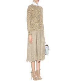 mytheresa.com - Metallic lace skirt - Luxury Fashion for Women / Designer clothing, shoes, bags